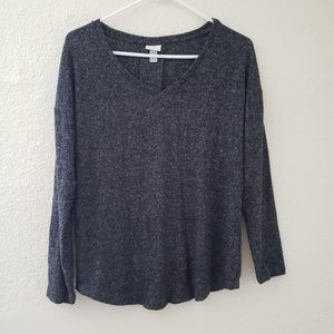 Long Sleeve Cozy Knit Top A New Day